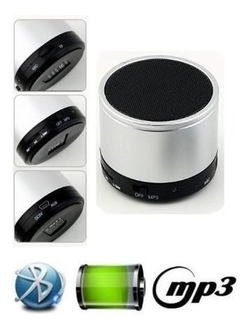 Mini Caixa Som Bluetooth Lg Nexus Samsung Nokia Xperia Sony
