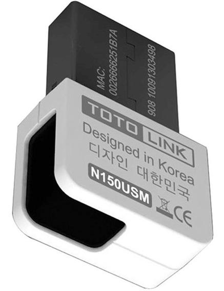 Adaptador Usb Wifi Nano Totolink N150usm 150mbps