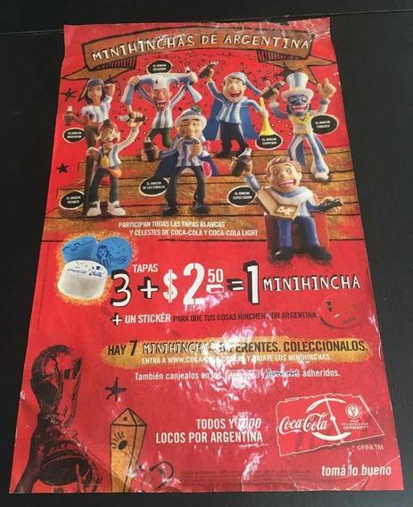 Coca -cola - Poster Minihinchas De Argentina - Coleccion