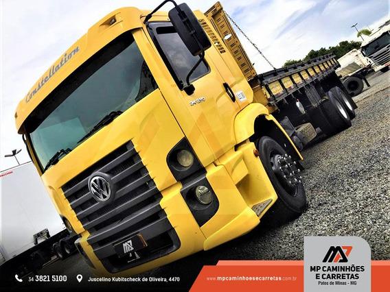 Caminhão Volksvagen 24.250 Constellation Muito Top.
