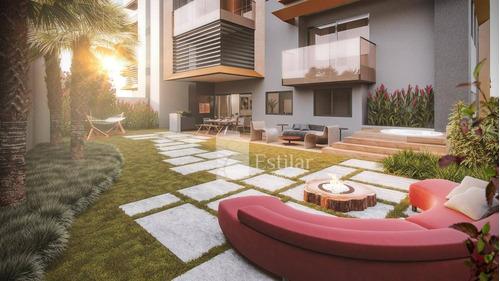 Imagem 1 de 28 de Apartamento Garden 03 Suítes E 04 Vagas No Cabral, Curitiba - Gd0434