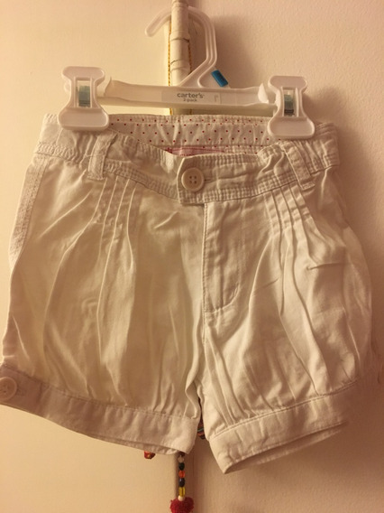 Short Blanco Mimo Baby