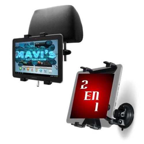 Imagen 1 de 1 de Soporte 2en1 Casa Y Carro iPad Tablet Universal
