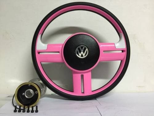 Volante Rosa Pink Gol G2 G3 G4 G5 Fox Golf Polo Fusca Polo