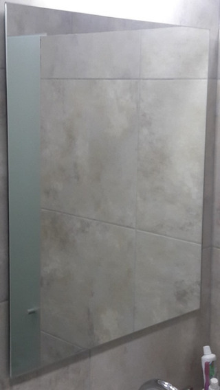 Espejo Sin Marco 50x70 Ideal Baños Listo Para Colgar Calidad