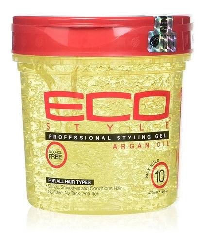 Gel Eco Style Argan X 473ml (16 Oz) - mL a $63
