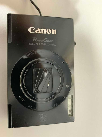 Cámara De Fotos Digital Canon Powershot Elph 520 Hs