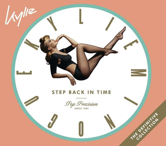 Cd Kylie Minogue - Step Back In Time - Duplo