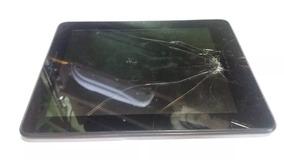 Tablet Microboard Ellite M1280 Tela Quebrada Placa Funciona