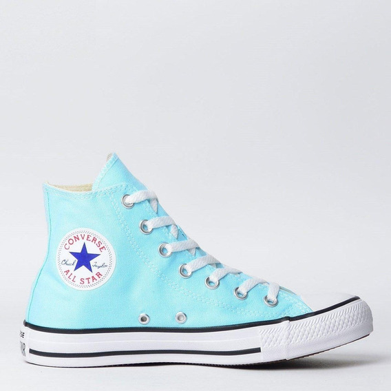 Tênis Converse All Star Azul A Cor Do Momento Frete Gratis