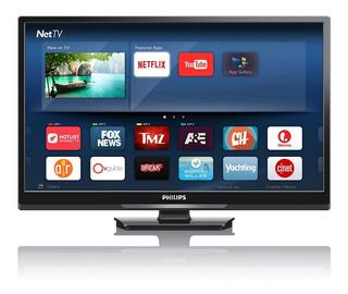 Pantalla Led 32 Smart Tv Philips 32pfl3901/f8 Negro