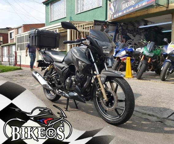 Tvs Apache Rtr 180 2019 En Buen Estado, Recibo Tu Moto, Bike