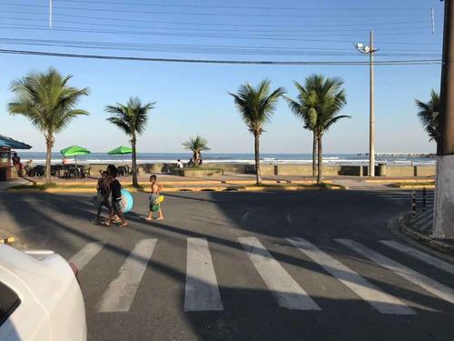 Imagem 1 de 10 de Casa De Temporada De Frente Para A Praia Em Mongagua