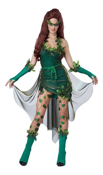 Disfraz Mujer Haloween Hiedra Venenosa Talla L