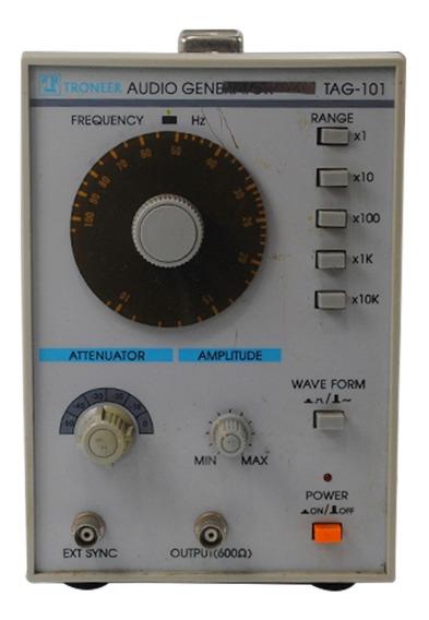 Gerador De Audio 10 A 1 Mhz Troneer Tag-101