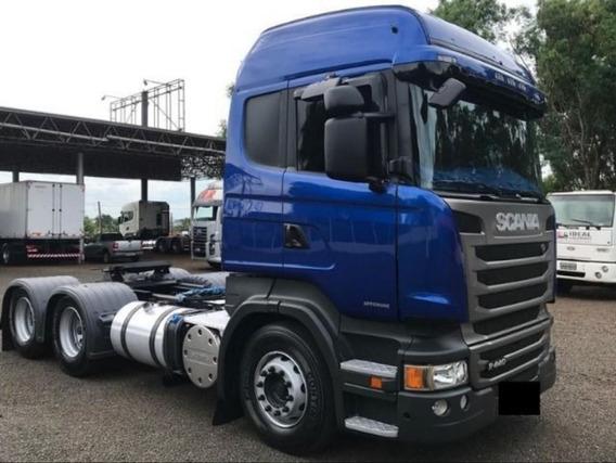 Scania R440 Highline 6x4 2013