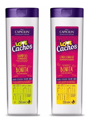 Shampoo & Condicionador 250ml