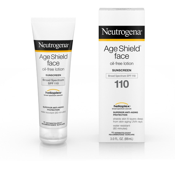 Neutrogena Age Shield Face Spf 110 88ml Importado