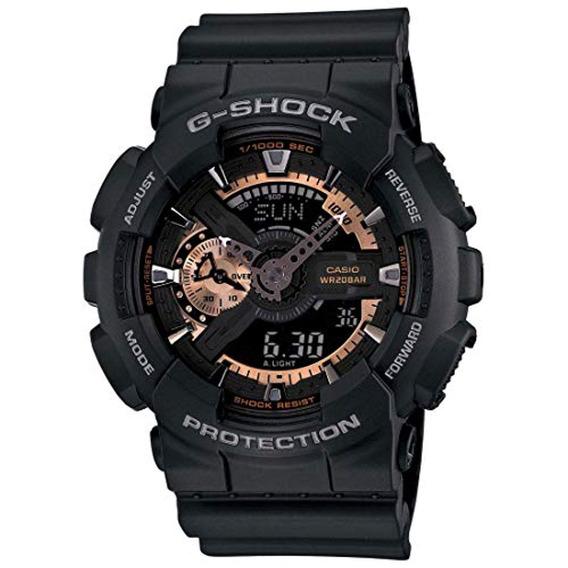 Casio G-shock Reloj De Cristal Para Hombre Color: Negro