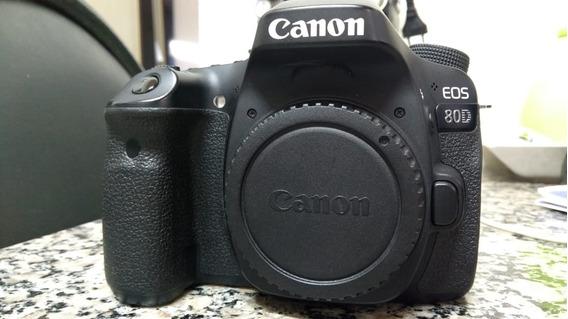 Câmera Canon Eos 80d (40k Cliques)