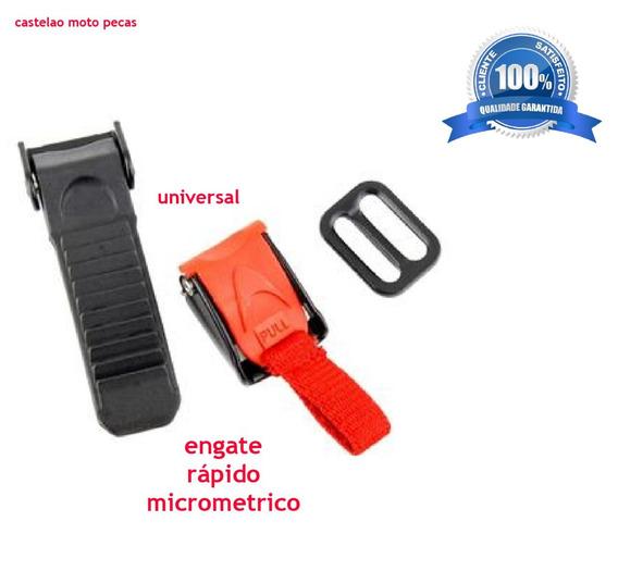 Engate Rapido Capacete Micrometrico Universal