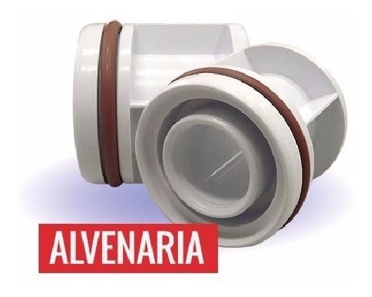 Dispositivo / Adaptador De Piscina Alvenaria Com Canos 50mm