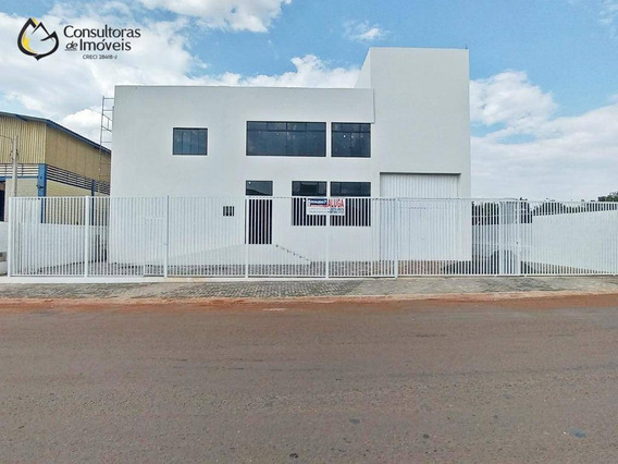 Barracão À Venda, 1500 M² Por R$ 3.500.000,00 - Santa Terezinha - Paulínia/sp - Ba0007