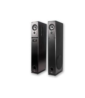 Parlantes Karaoke Bluetooth Neptuno 60w 2 Mic Noga Columna
