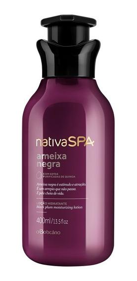 Nativa Spa Loção Hidratante Desodorante Corporal Ameixa Negra 400ml