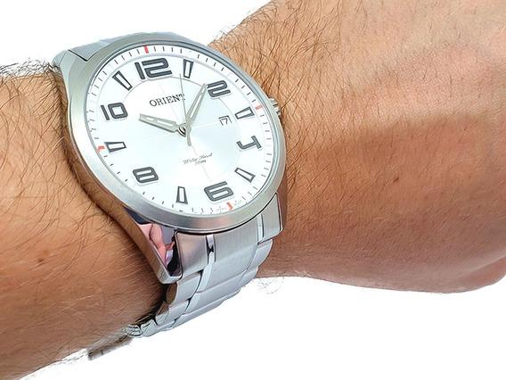 Relógio Masculino Orient Aço À Prova D