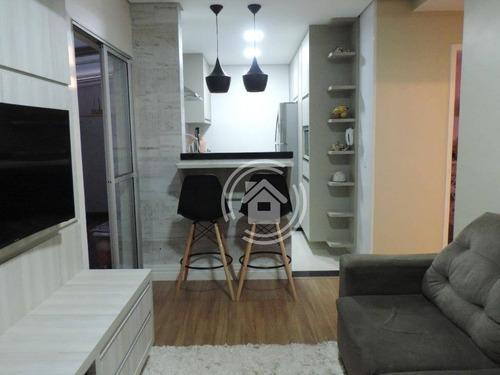 Apartamento Com 2 Dormitórios À Venda, 45 M² Por R$ 170.000,00 - Nova Pompéia - Piracicaba/sp - Ap0782