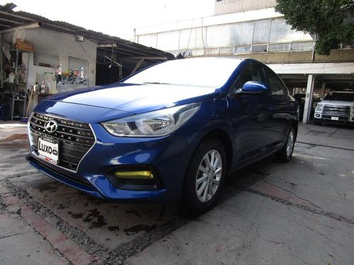 Imagen 1 de 15 de Hyundai Accent 4p Gl Mid 1.6l,tm6,a/ac.,ve,ra15