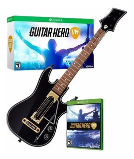 ..:: Guitar Hero Live Para Xbox 360 Nuevo Sellado ::.. Bsg