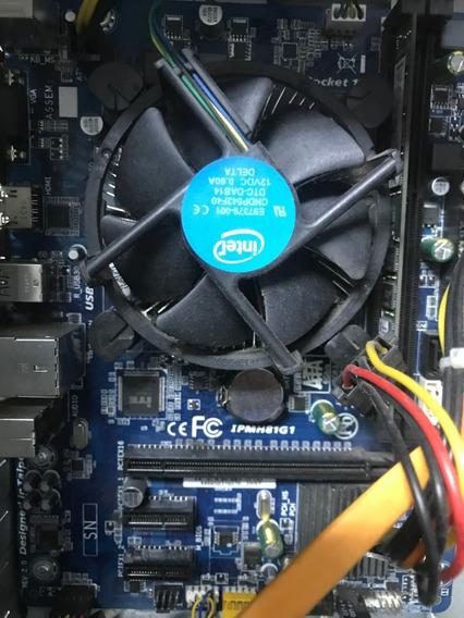 Processador Intel I3 4170 - Memória 4 Gb - Placa Ipmh81g1