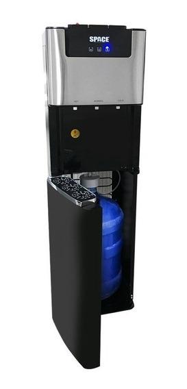 Dispensandor De Agua Space Negro De Lujo Botellon Abajo