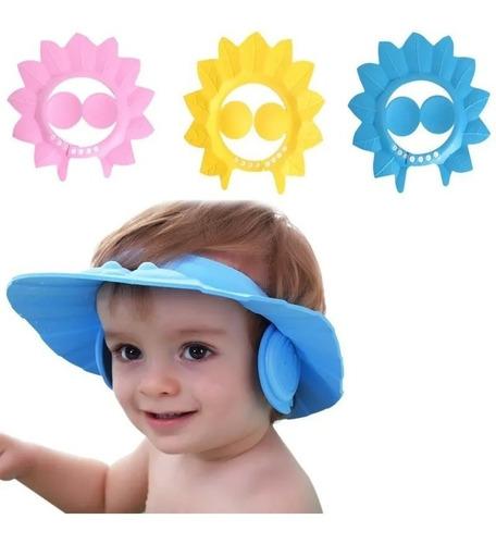 Gorro Visera Baño Ducha Bebé Niños