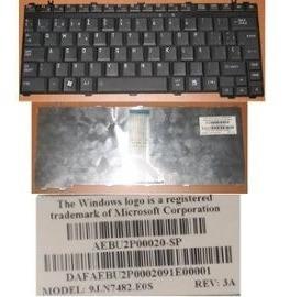 Teclado Español Toshiba M800 U400 U405 A600 E205-s1904 Negro