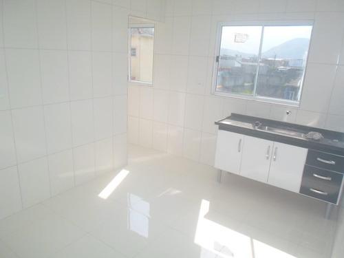 Casa Em Balneário Esmeralda, Praia Grande/sp De 50m² 2 Quartos À Venda Por R$ 220.000,00 - Ca691180