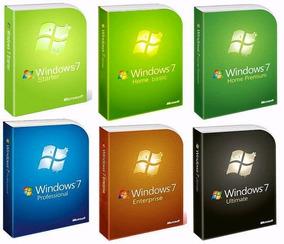 Dvd Windows 7 - 32 E 64 Bits - Ativado(original)frete Gratis
