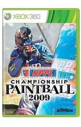Championship Paintball 2009 Xbox 360 Original