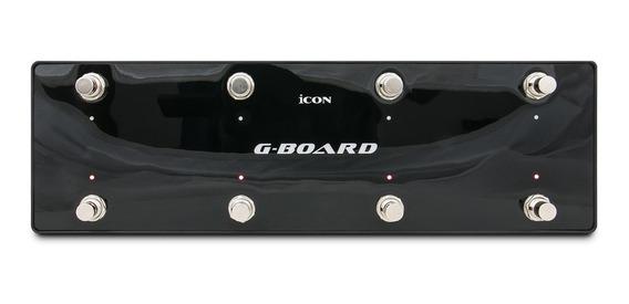 Controladora Pedal Icon G-board (black) Usb P/ Guitarra