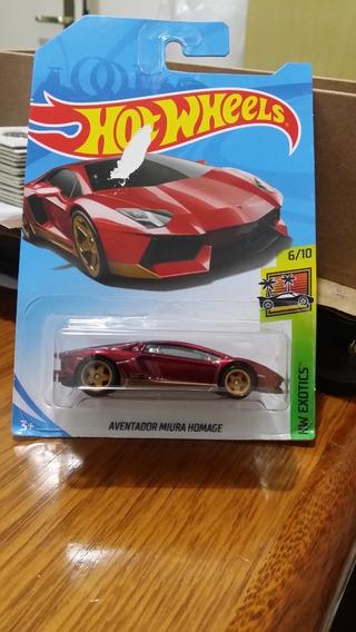 Miniatura Hot Wheels Aventador Miura Homage Super Sth !!!