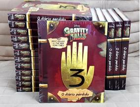 Livro Diário Perdido Gravity Falls Vol 3 / Capa Dura Lacrado