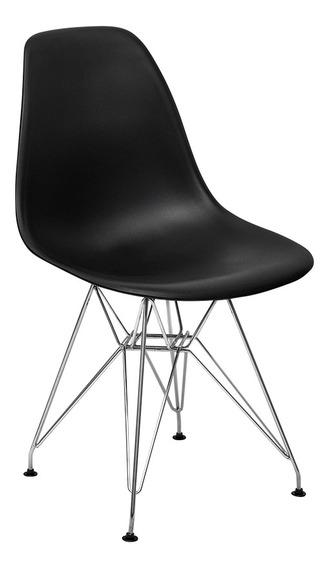 Cadeira Charles Eames Eiffel Base Metal - Design
