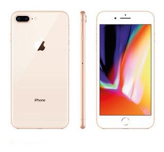 iPhone 8 Plus Dourado Tela 5,5 4g 64 Gb 12 Mp Mq8n2br/a