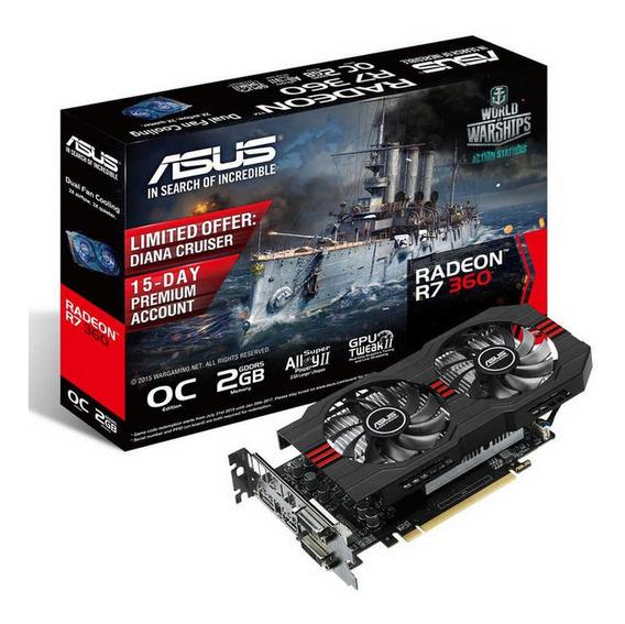 Placa De Video Radeon R7 360 Asus
