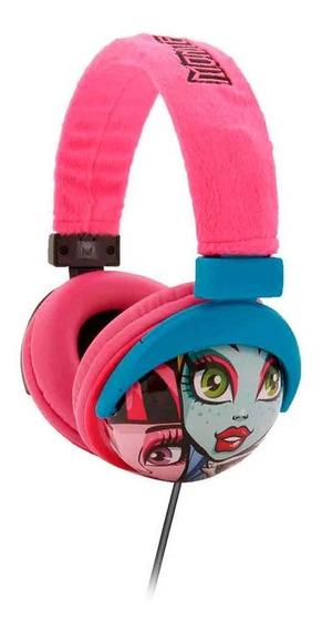 Fone De Ouvido Multikids Headphone Monster High P2 - Ph107