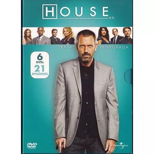 Dvd - House - Sexta Temporada - Box