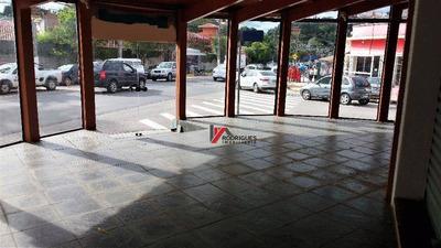 Salão Comercial Para Locação, Vila Thais, Atibaia. - Sl0015