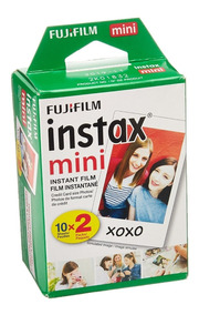 Filme Instantâneo Fujifilm Instax Mini Com 20 Fotos Na Caixa